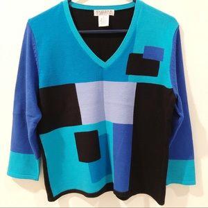 UNIFORM John Paul Richard sweater sz. L.